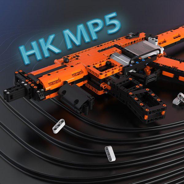 ZHEGAO QL0450 Battlefront: HK MP5 MLI electric assault rifle 2