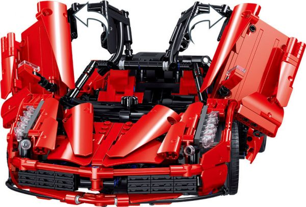ZHEGAO QL0417 Ferrari Ferrari 1:10 10