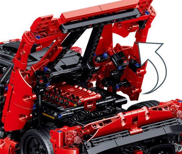 ZHEGAO QL0417 Ferrari Ferrari 1:10 11