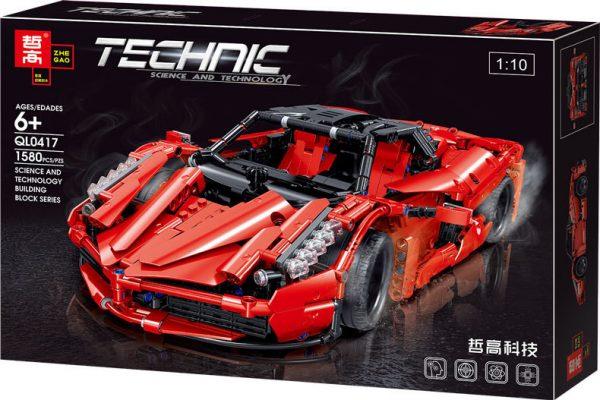 ZHEGAO QL0417 Ferrari Ferrari 1:10 16