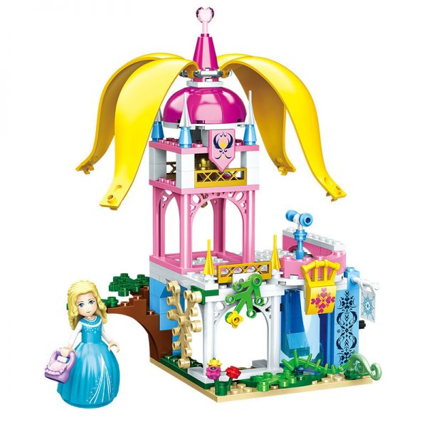 ZHEGAO QL1114-3 Four-in-one dream castle 6
