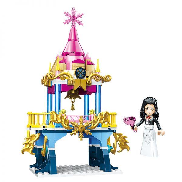 ZHEGAO QL1114-1 Four-in-one dream castle 8