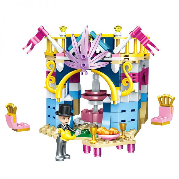 ZHEGAO QL1114-3 Four-in-one dream castle 10