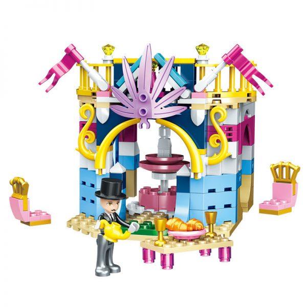 ZHEGAO QL1114-1 Four-in-one dream castle 10