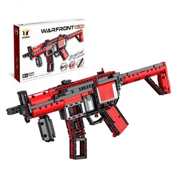 ZHEGAO QL0450 Battlefront: HK MP5 MLI electric assault rifle 5
