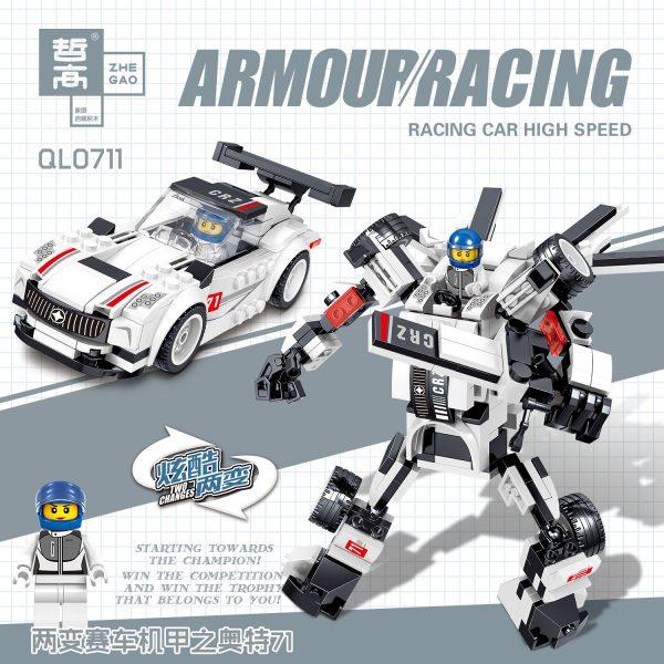 ZHEGAO QL0713 Racing Armour 4 3