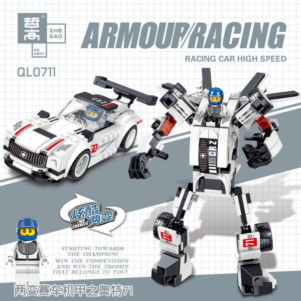 ZHEGAO QL0712 Racing Armour 4 4