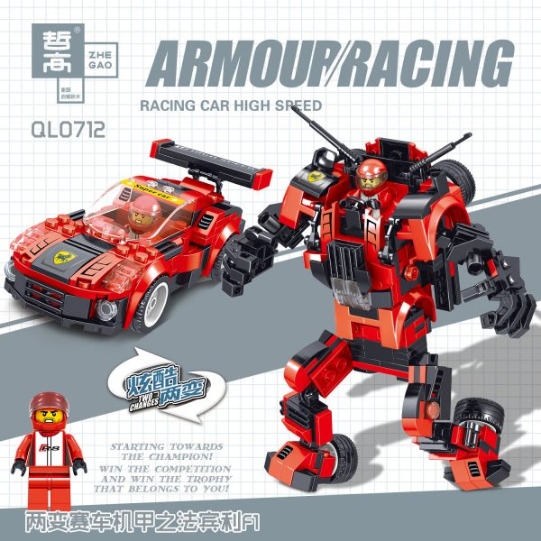 ZHEGAO QL0711 Racing Armour 4 5