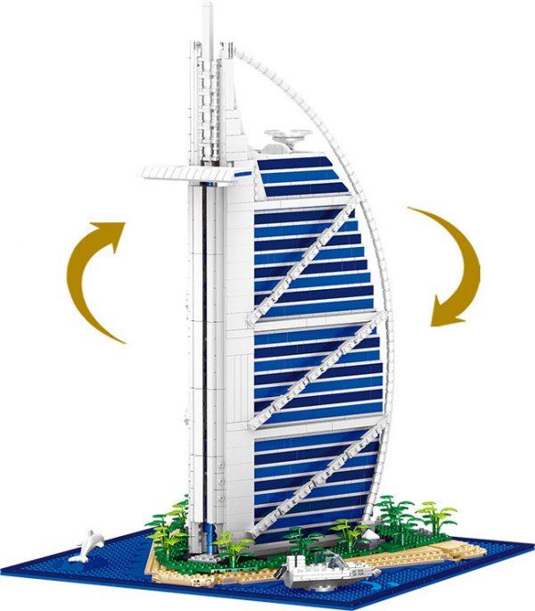 ZHEGAO QL0963 Arab Tower Hotel Dubai, United Arab Emirates 7