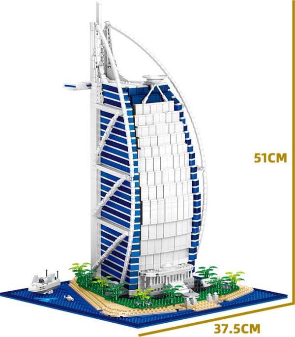 ZHEGAO QL0963 Arab Tower Hotel Dubai, United Arab Emirates 8