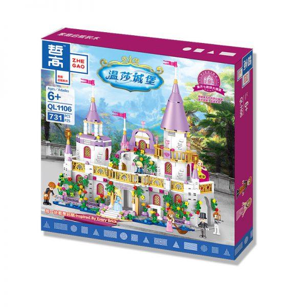 ZHEGAO QL1106 Windsor Castle: Dream Shadow Fairy City 1