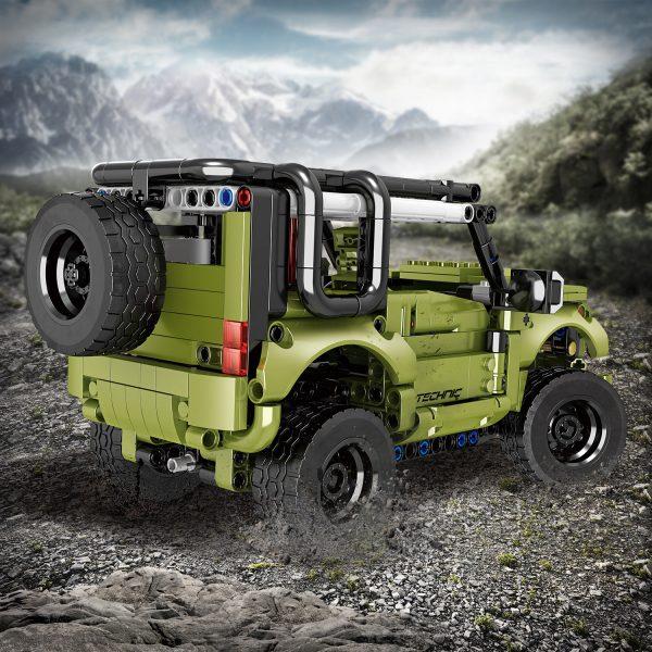 ZHEGAO QL0424 Land Rover Defenders Return 3