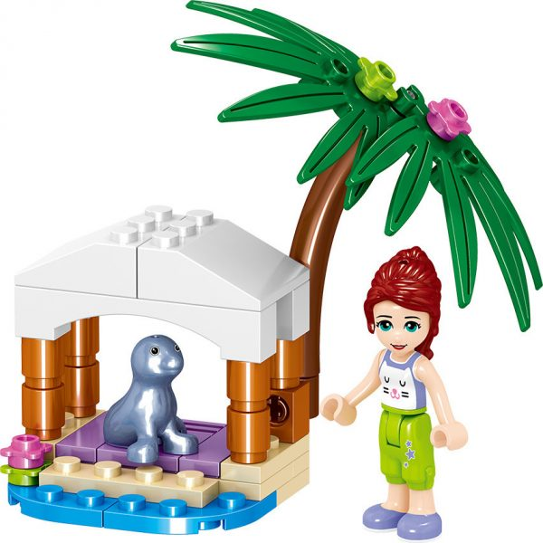 ZHEGAO QL1158 Good friends: Summer Seaside Resort 8 7