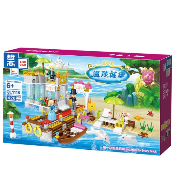 ZHEGAO QL1118 Windsor Castle: Fairy Island Holiday Homes 1