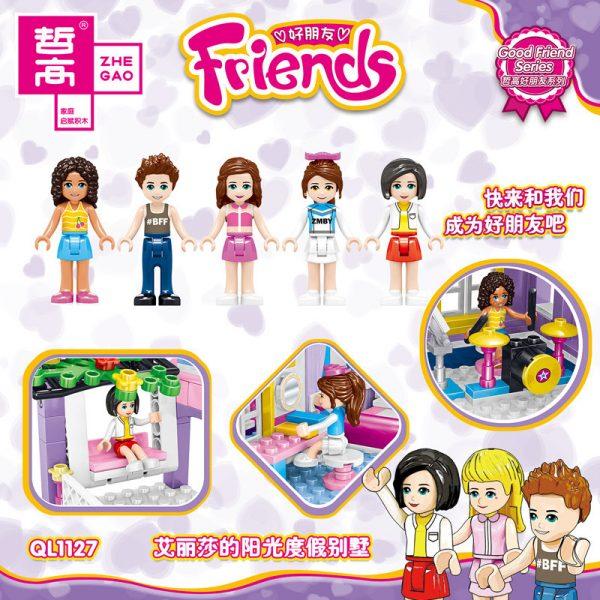 ZHEGAO QL1127 Good friend: Alyssa's sunny vacation home 1