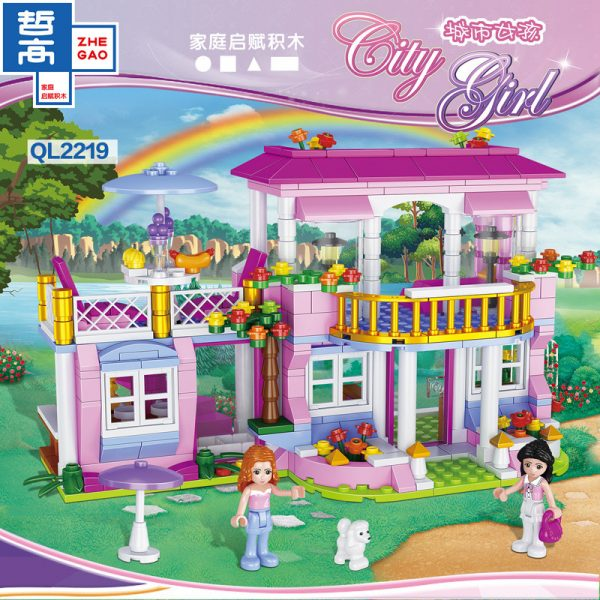 ZHEGAO QL2219 CityGirls: Villa 1