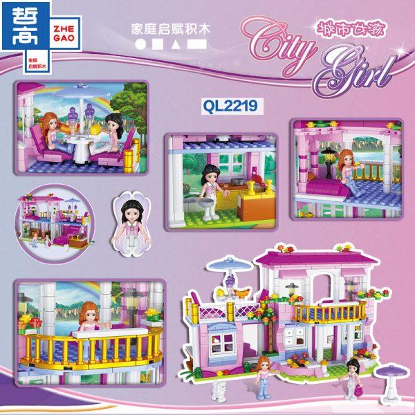 ZHEGAO QL2219 CityGirls: Villa 2