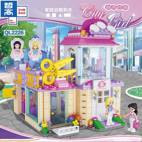 ZHEGAO QL2226 CityGirls: Barber shop 1