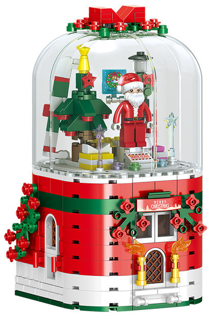 ZHEGAO QL0981 Christmas music box 2