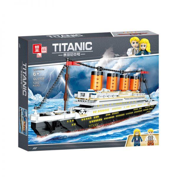 ZHEGAO QL0958 Titanic 8