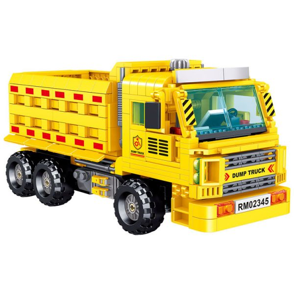 ZHEGAO QL0234 Engineering dump truck 4