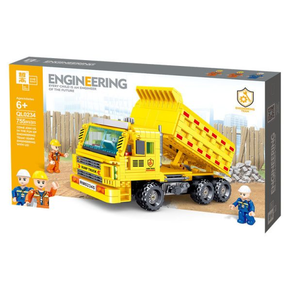 ZHEGAO QL0234 Engineering dump truck 5