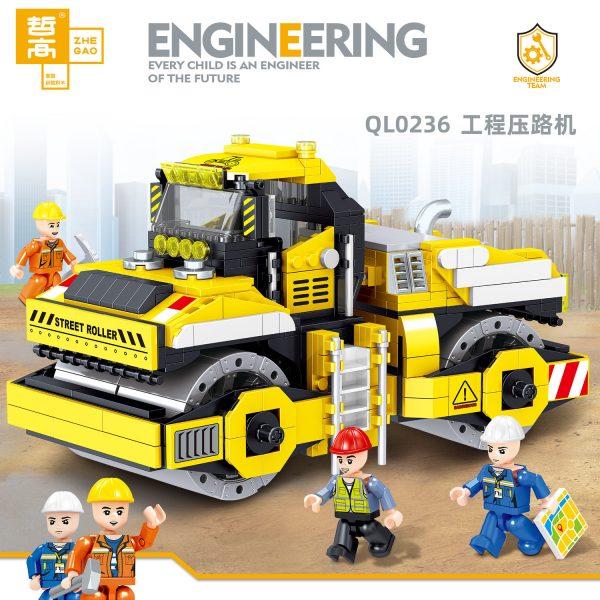 ZHEGAO QL0236 Engineering roller 1