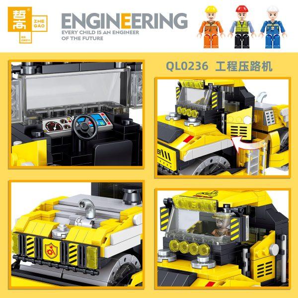 ZHEGAO QL0236 Engineering roller 2