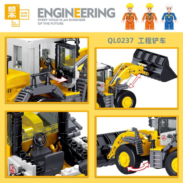ZHEGAO QL0237 Engineering forklift 2