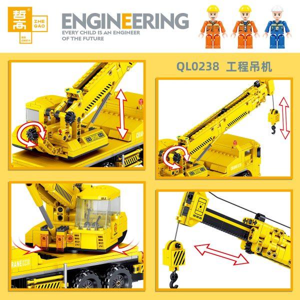 ZHEGAO QL0238 Engineering crane 2
