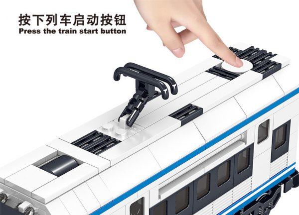 ZHEGAO QL0310 Rail transit: Harmony high-speed train 7