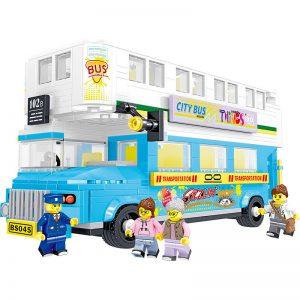 ZHEGAO QL0952 City Bus: Double City Sightseeing Bus 0