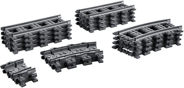 ZHEGAO QL0314 Trains: Tracks and Bends Train tracks/straight tracks/bends/universal tracks 0