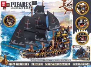 ZHEGAO QL1803 Pirate Kingdom: The Eternal of the Pirate Ship 0