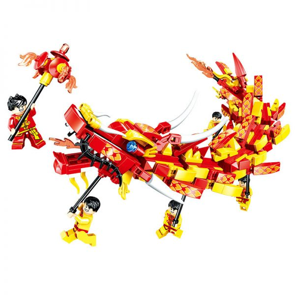 ZHEGAO QL0955 New Year's Day: Dragon Dance 0