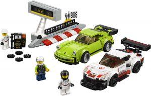 ZHEGAO QL0720-3 Super Racing Cars: Porsche 911 RSR and Porsche 911 Turbo 3.0 0