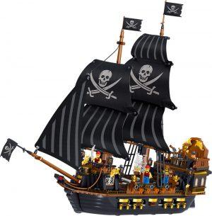 ZHEGAO QL1804 Pirate Kingdom: The Pirate Ship Black Hawk. 0