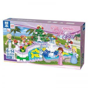 ZHEGAO QL2214 CityGirls: Fountain Garden 0