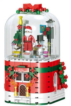 ZHEGAO QL0981 Christmas music box 0