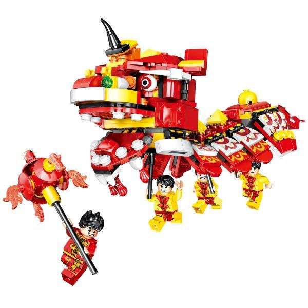 ZHEGAO QL0956 New Year's Day: Lion Dance 0