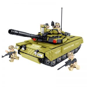 ZHEGAO QL0135 Iron And Iron Division: T-84M Main Battle Tank 0