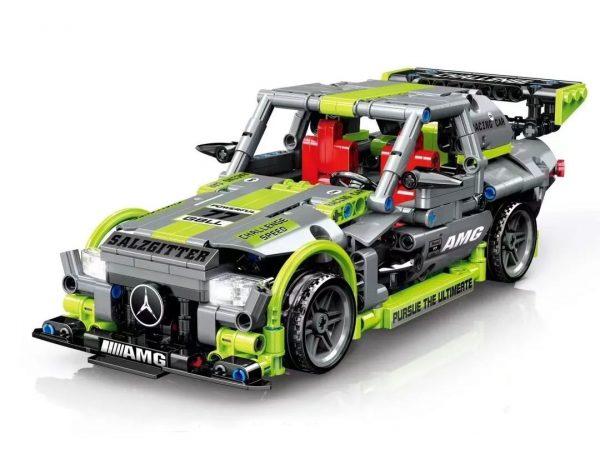 ZHEGAO QL0472 Benz Pull Back Car 0