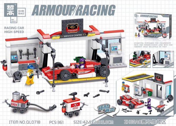 ZHEGAO QL0718 ZHEGAO Racing Cars Repair Zone 0