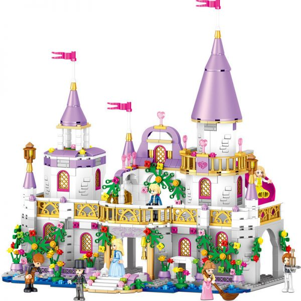 ZHEGAO QL1106 Windsor Castle: Dream Shadow Fairy City 0