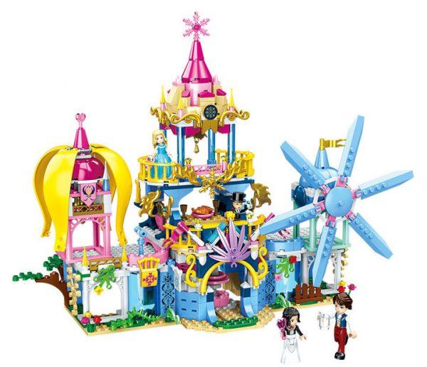 ZHEGAO QL1114-3 Four-in-one dream castle 0