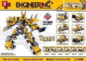 ZHEGAO QL0222 Hercules King Kong Mechanical Engineering Vehicle Six-in-One 0