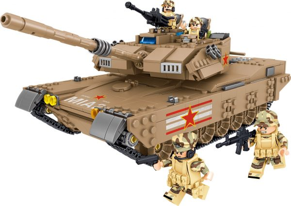 ZHEGAO QL0129 Tank Corps: China M1A2 Main Battle Tank 0