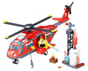 ZHEGAO QL0218 Fire Eagle: Fire and Rescue Helicopter 0