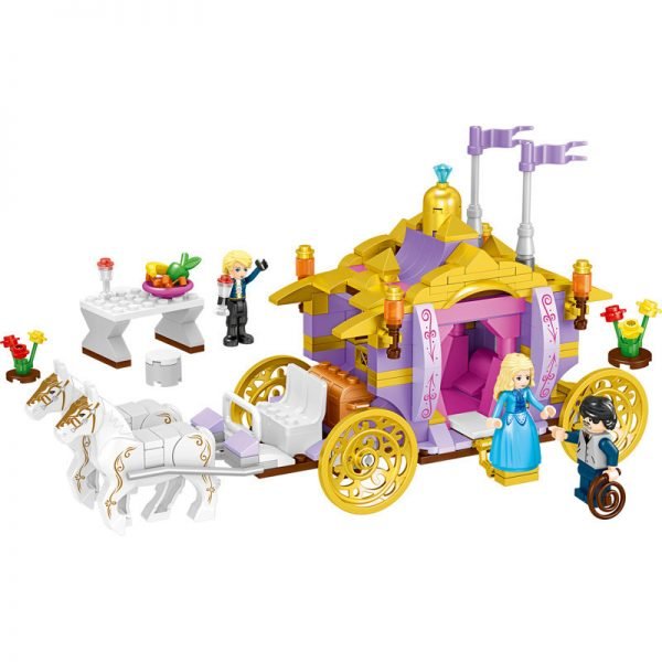 ZHEGAO QL1117 Windsor Castle: Rhinets Royal Carriage 0