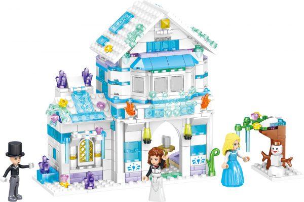ZHEGAO QL1140 Windsor Castle Ice season: Lilith's Crystal Ice House 0